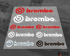 brembo Transparent kit cool car stickers /3 M back glue/Door-to-door delivery