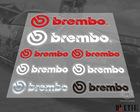 brembo Transparent kit cool car stickers /3 M back glue/Door-to-door delivery
