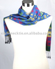 fashion woven long silk scarf