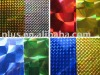 Holographic PVC film for Christmas decoration or gift packing