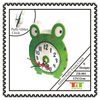GARDEN FROG EVA GLITTER FABRIC CLOCK DECOR
