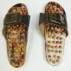 Wood Kneading Massage Sandal,Massage shoes, Massage Slipper,Spring acupuncture massage slipper