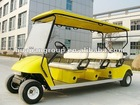 48V battery electric golf cart with 6 seats for sale,white,yellow,red color available