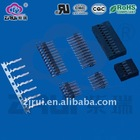 2.54mm TJC8-DP double row pin header connector
