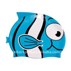 swim cap,uniker,L2200, fish shape