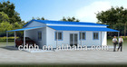 Prefabricated Modular House quick installation, knock down house