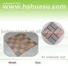 eco-friendly wood plastic composite wpc decking/floor tile