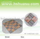 eco-friendly wood plastic composite wpc decking/floor tile