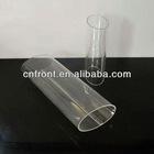 acrylic oval tube