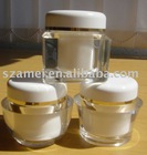 customed acrylic cosmetic jar