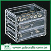 Acrylic jewery display drawer stand