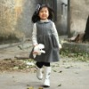 2012 Lovely girls winter dress