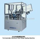 automatic aluminum tube filling and sealing machine