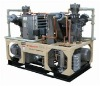 Oil-less high pressure air compressor