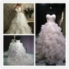 3 Mix Style ! WR2104 Latest Romantic Ball Plus Size Church Wedding Dress 2013