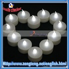White LED Flameless Candle Light for Wedding Gift