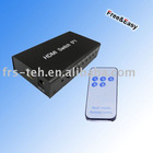 HDMI switch 5*1 1080P with remote control