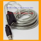 5M USB 2.0 male to male Extensible Cable