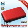 Red Protect Protective Hard Case Pouch for Nintendo 3DS