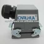 whole sales facoty sales heavy duty male and female cable connectors