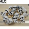 Halloween Wholesale Halloween Human Skeleton Shape GHOST Head Lamp Decorate Light Set LF-047