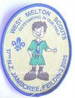 kids clothing/uniform woven Scout patches