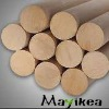 ROUND LONG Wood Round Rod, Wooden Round Pole,Wood Round Bar /Wood Stick/Wood Dowel