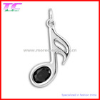 fashion shoe charm with rhinestone