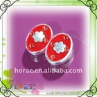 fashion plated plastic button
