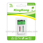 6LF66 9v alkaline dry battery for electronic toy
