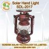 Iron led solar lantern