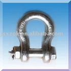 Bow-type shackle(with nut)