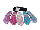 New style ladies PU slippers 16FY12058