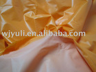 100%nylon fabric with milky coating