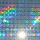 hologram sticker / we can customise the customer special text on the holo with different effect