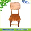 Rustic wooden chair