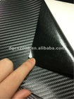 3D carbon film with air channels for car body