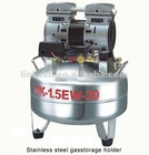 Oil-free air compressor HK-1.5EW-30(one to one )