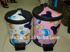 Round Foot Pedal plastic dustbin/ Waste Bin