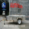 New aluminum camping trailer SF74T