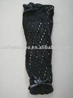 ladies pelerine leg warmer with lace