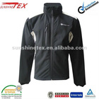 Fashion!!! Men's softshell jacket with hood -12A054