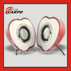 Fascinating apple stereo speaker E102