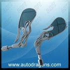 ADT-SF004A chrome motocycle rearview mirror