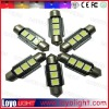Hot sale! 5050SMD led festoon lamp,smd canbus led light