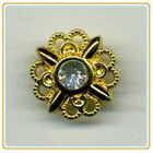 hardware jeans button with stone