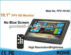 10.1 inch FPV HD Monitor&No Blue Screen&Best for Aerophotography