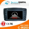 Sharing Digital 7'' Benz GPS Navigation for C-W203