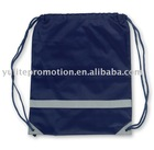 nylon backpack, shoe bag
