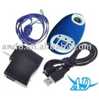 GSM Real-Time GPS Tracker Bug with SOS Button (850/900/1800/1900MHz) Blue